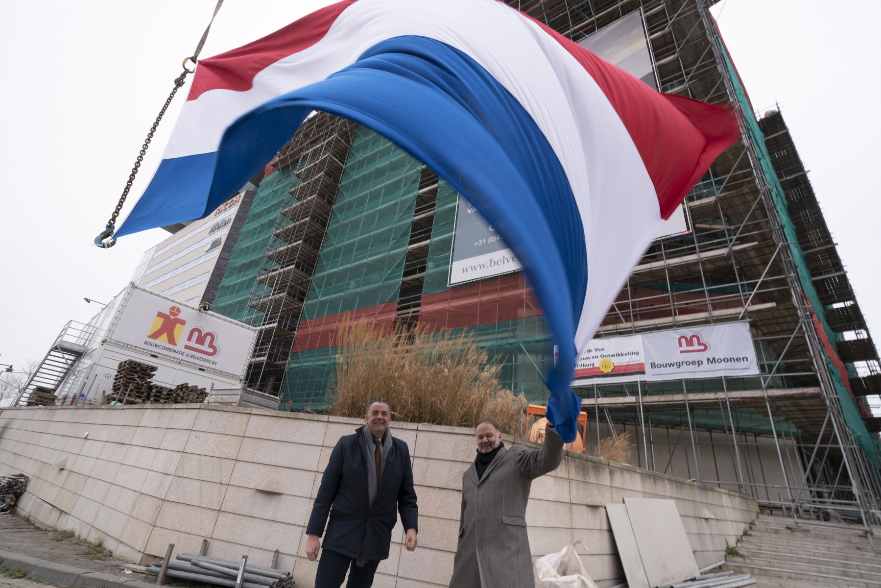 Kantoorgebouw Belvédère bereikt hoogste punt